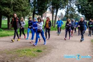 Agnese Zanotti e Camminata Sportiva