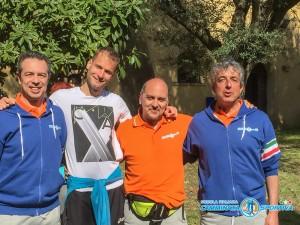 Alex Schwarzer, Mario DE Benedictis, Fabio Moretti e Alessandro Pezzatini