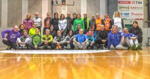 Un magnifico corso istruttori a Treviso nella struttura della Città dello sport alla Ghirada